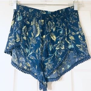 Patterned Dolphin Short. Worn once.